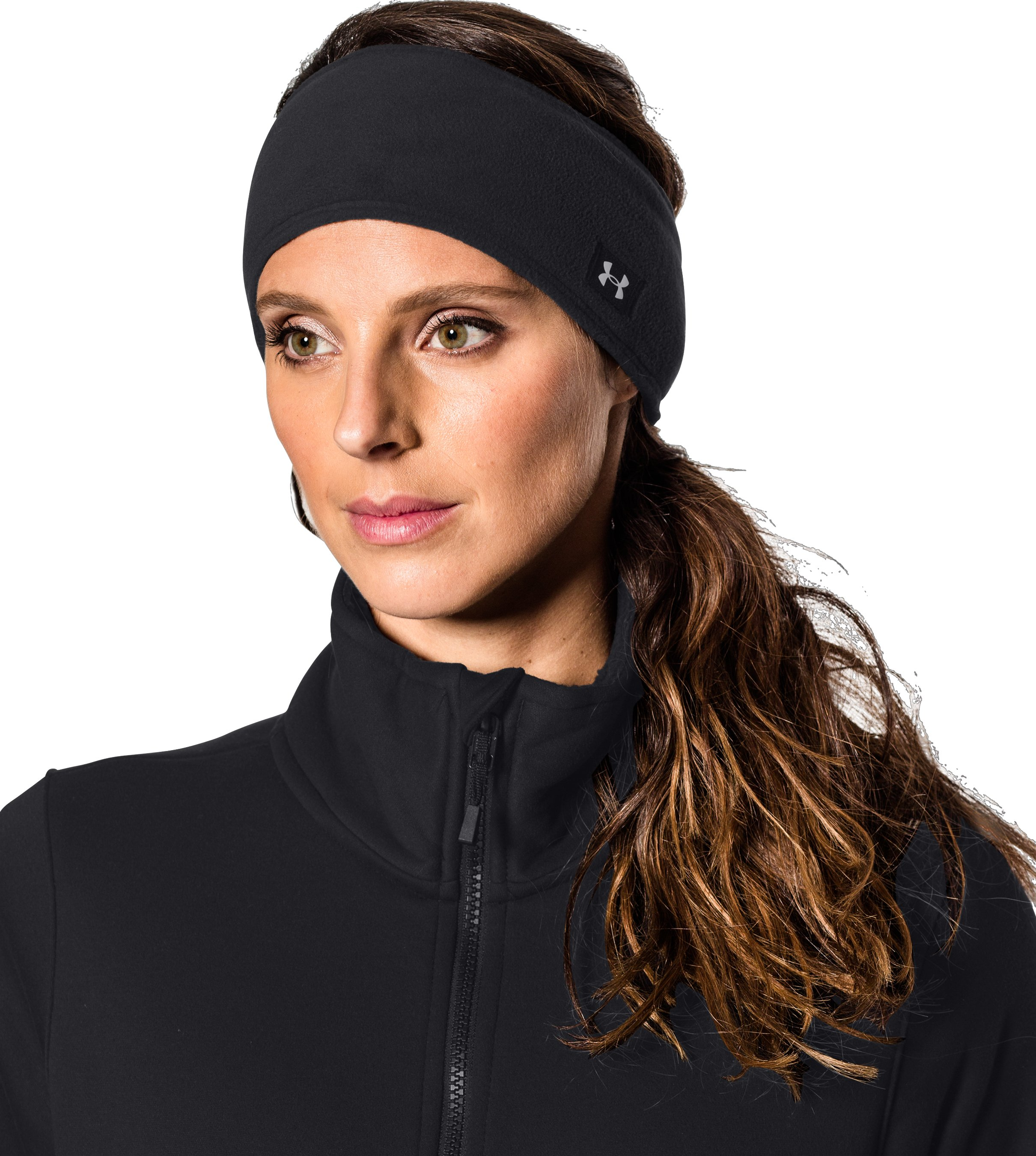 Women's UA Cozy Fleece Headband, BOULDER,