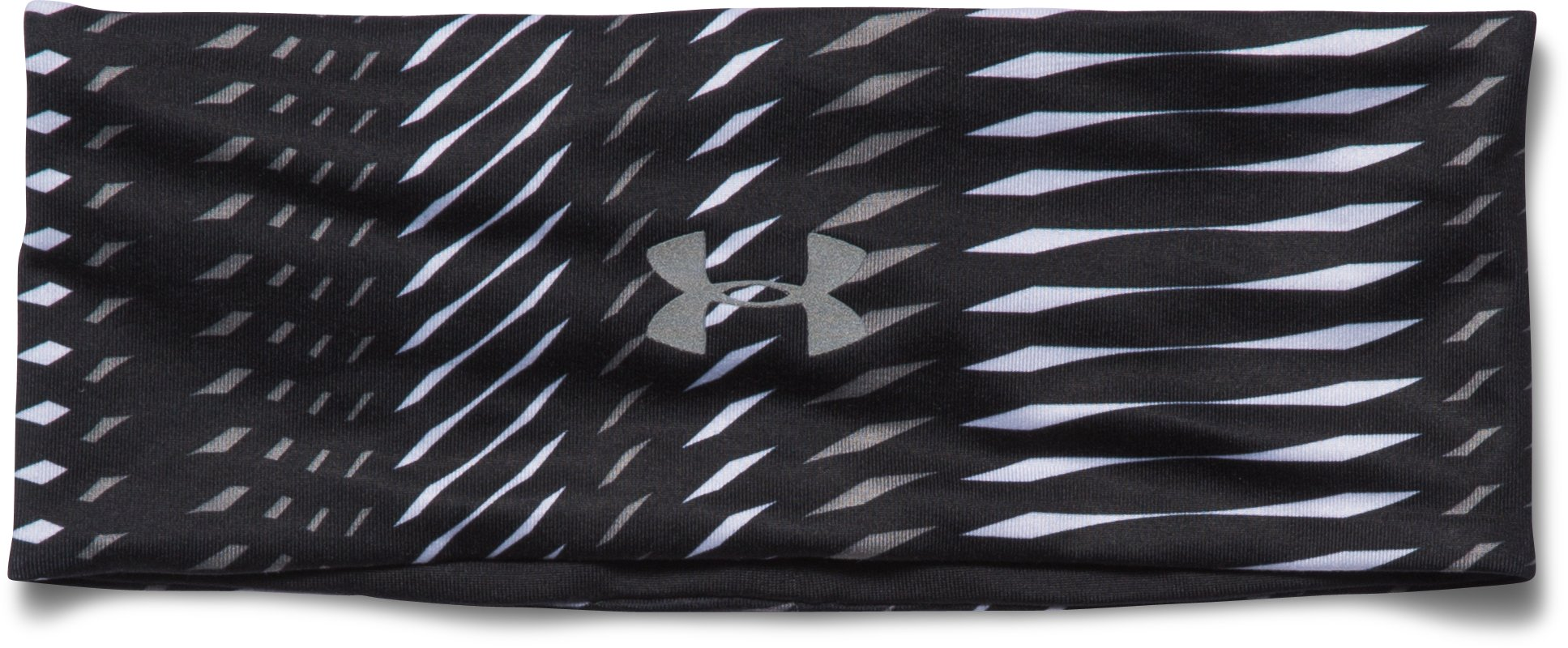 Women's UA Layered Up Reversible Headband, Black