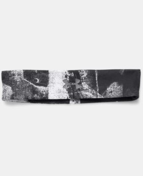 Women's UA Studio Performance Printed Headband  1 Color $10.49