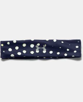 Women's UA Studio Performance Printed Headband  1 Color $17.99