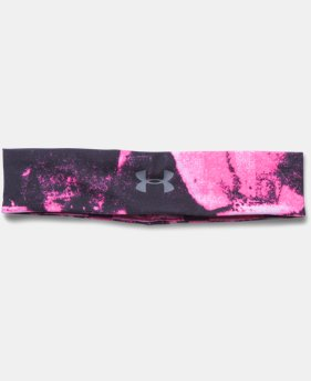 Women's UA Studio Performance Printed Headband
