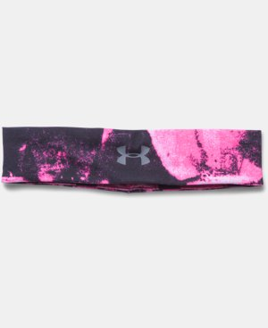 Women's UA Studio Performance Printed Headband  3 Colors $10.49