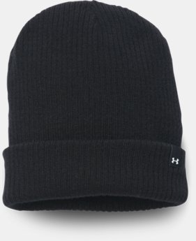 New to Outlet Women's UA Boyfriend Cuff Beanie  3 Colors $11.24