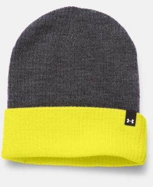 New to Outlet Women's UA Boyfriend Cuff Beanie  1 Color $11.24
