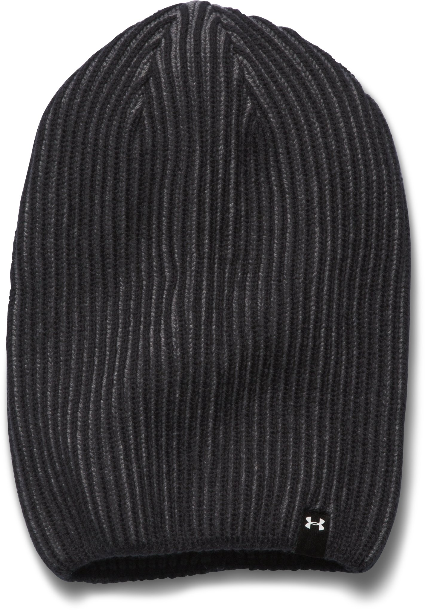 Women's UA On & Off Beanie, Black , zoomed image