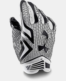 Men's UA Swarm Football Gloves  5 Colors $29.99 to $37.99