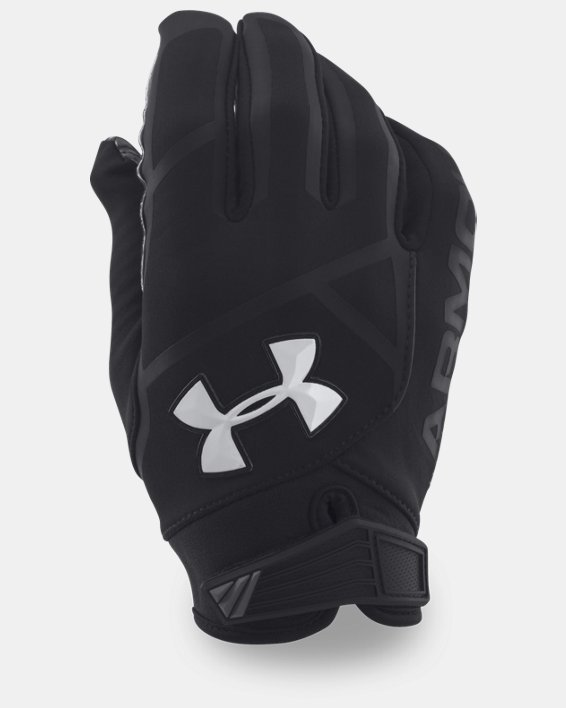 Men's UA Playoff ColdGear® II Gloves, Black, pdpMainDesktop image number 0