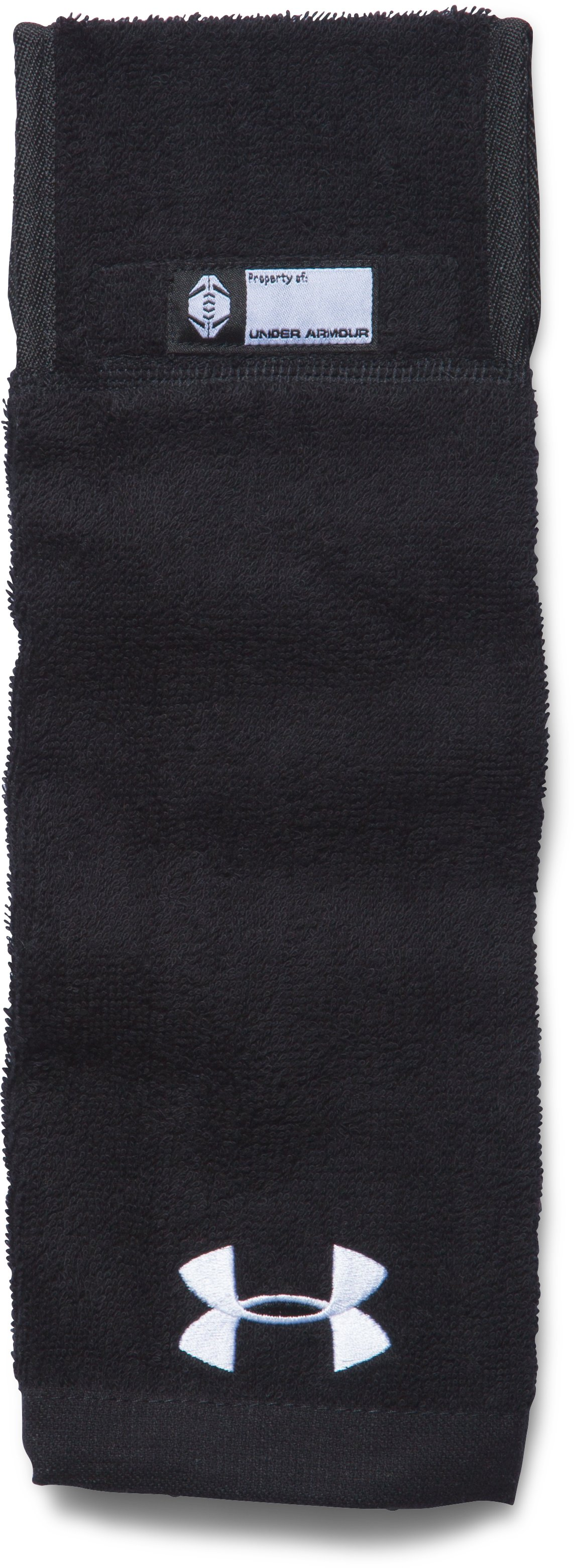 UA Undeniable Player Towel, Black , zoomed image
