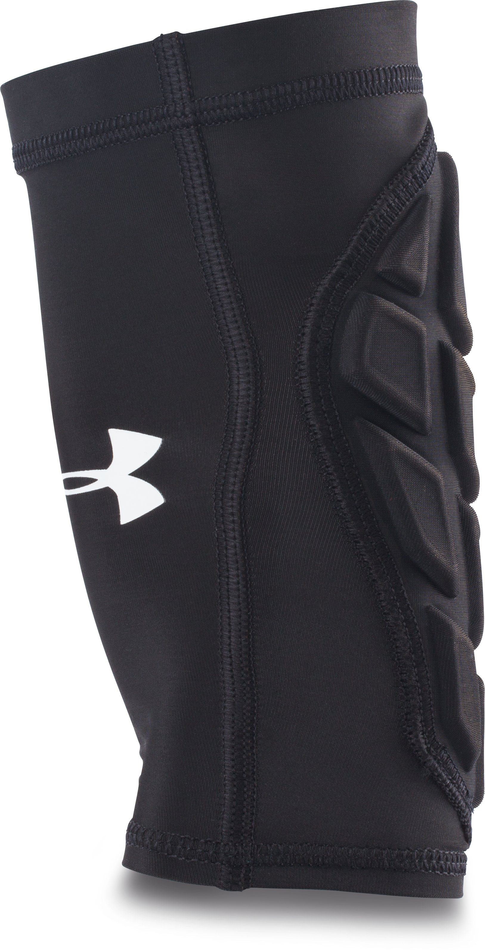 Men's UA Football Padded Forearm Sleeve, Black