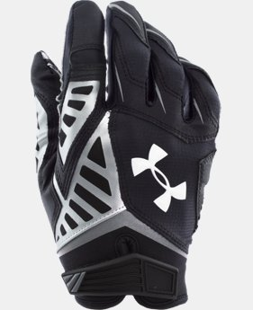 Men's UA Nitro Warp II Football Gloves  1 Color $33.99