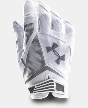 Men's UA Nitro Warp II Football Gloves