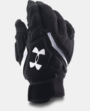 Men's UA Combat IV Football Gloves  1 Color $24.74