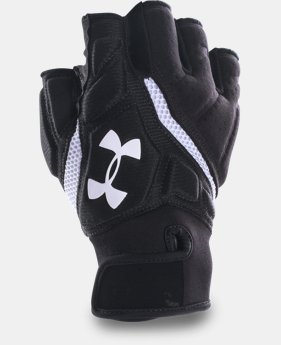 Men's UA Combat IV Half-Finger Football Gloves   $37.99
