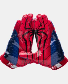 Men's Under Armour® Alter Ego Spider-Man F4 Football Gloves