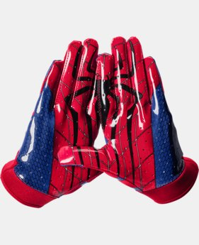 Boys' UA Alter Ego F4 Spiderman Football Gloves LIMITED TIME: FREE U.S. SHIPPING  $25.99