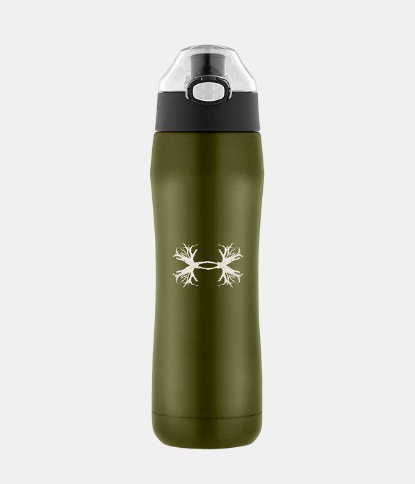 Beyond 18 Oz Vacuum Insulated Antler Logo Water Bottle