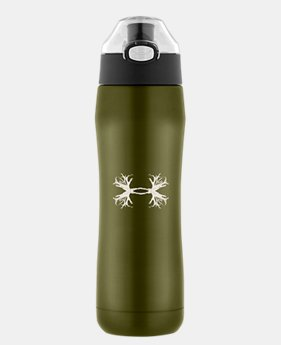 Beyond 18 oz. Vacuum Insulated Antler Logo Water Bottle
