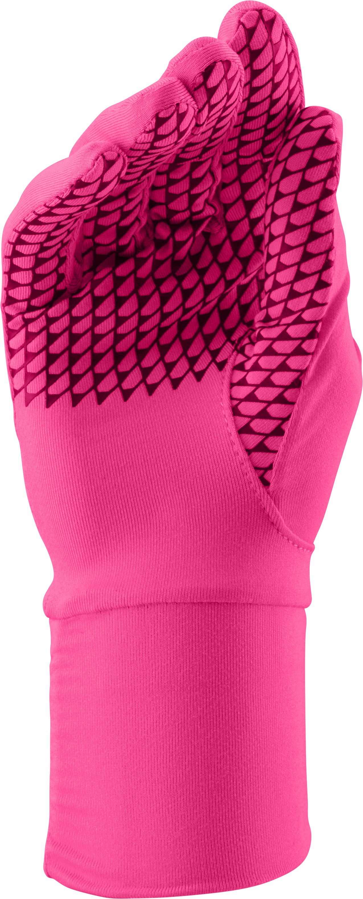 Women's UA Layered Up! Liner Glove, REBEL PINK