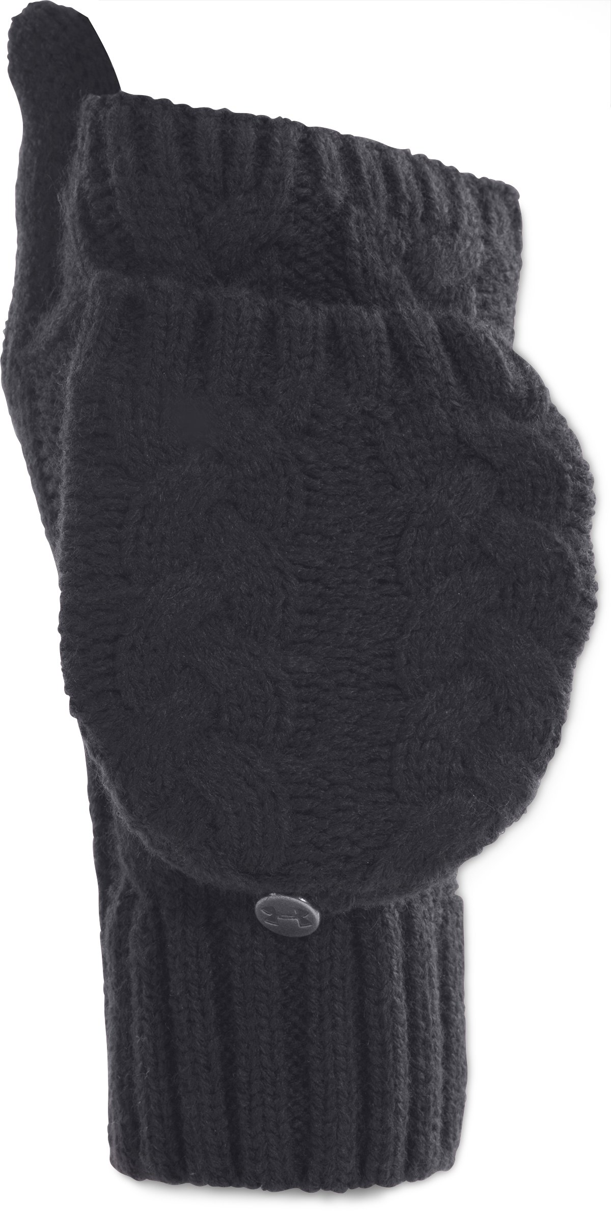 Women's UA Around Town Gloves, Black , zoomed image