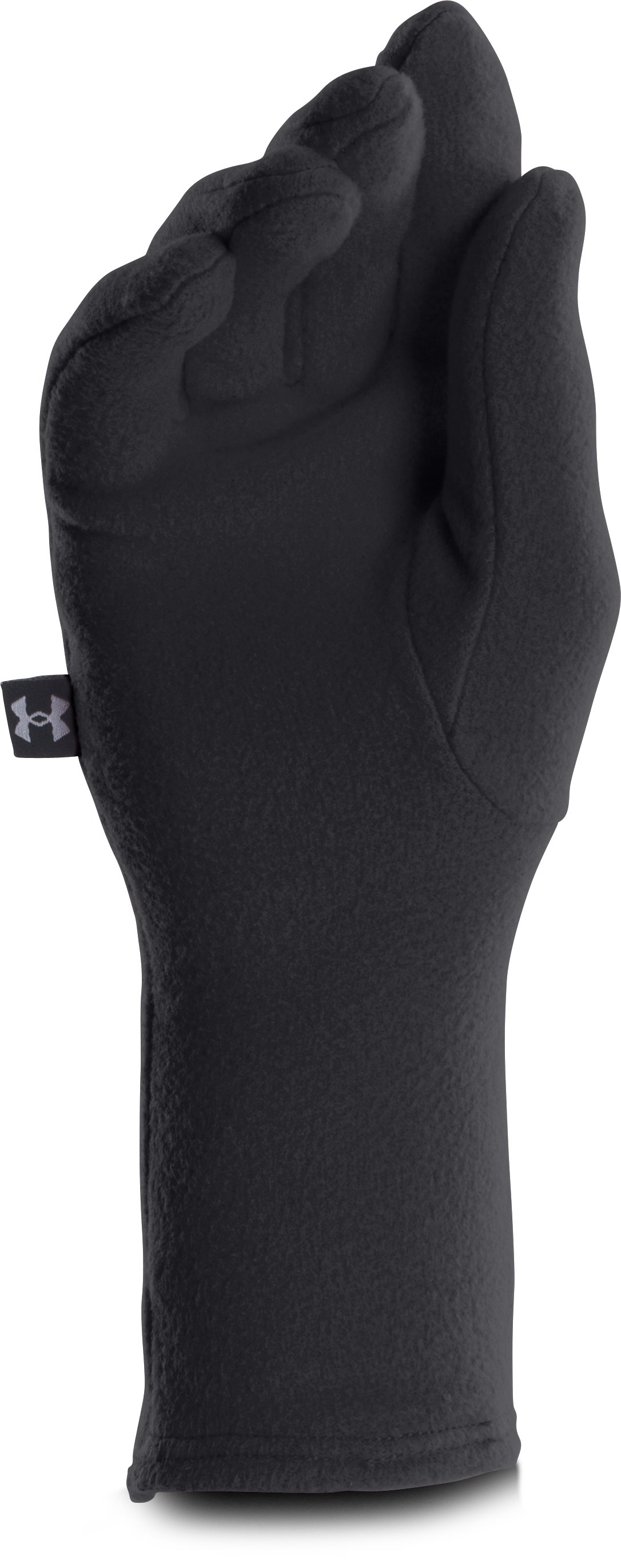 Women's UA Cozy Fleece Gloves, Black , undefined