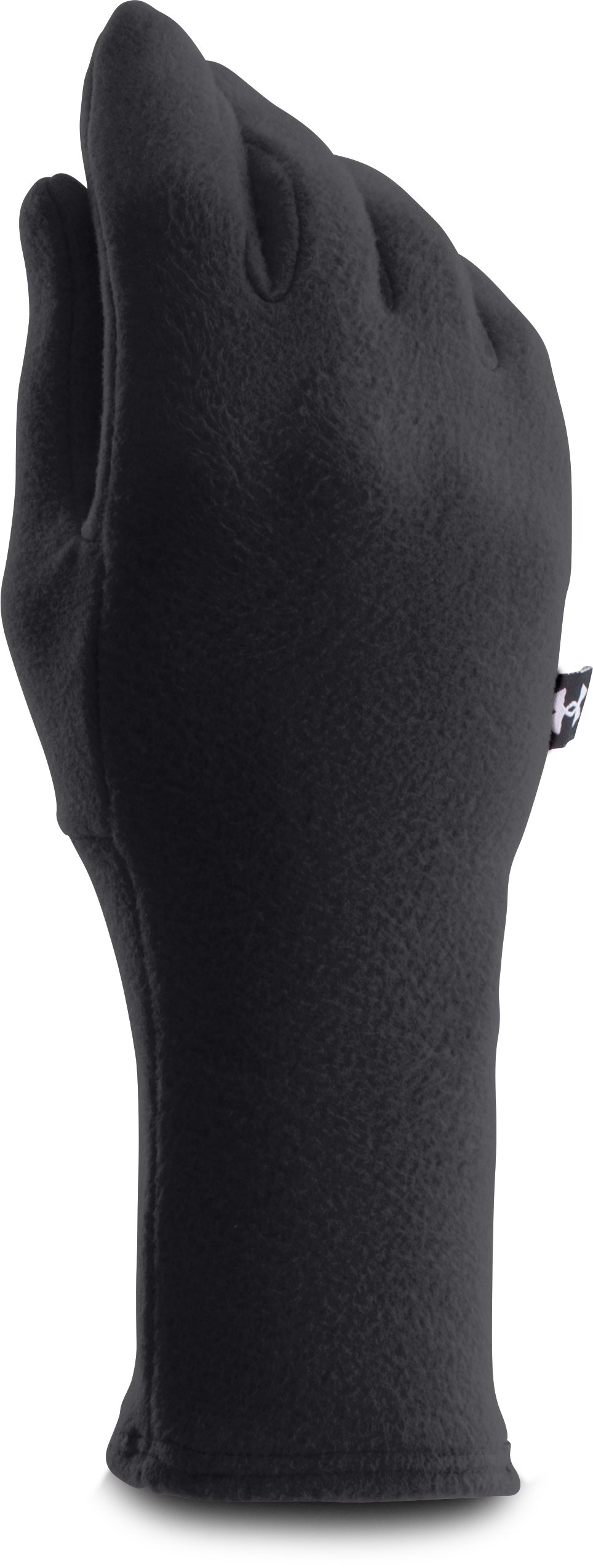 Women's UA Cozy Fleece Gloves, Black ,
