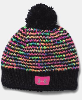 Best Seller Girls' UA Speckle Beanie LIMITED TIME: FREE U.S. SHIPPING 1 Color $24.99