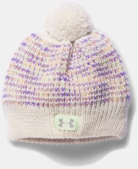 New to Outlet Girls' UA Speckle Beanie  1 Color $15.99