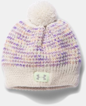 Girls' UA Speckle Beanie LIMITED TIME: FREE U.S. SHIPPING  $14.24