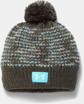 Best Seller Girls' UA Speckle Beanie  1 Color $24.99