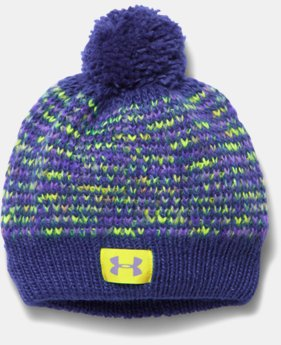 New to Outlet Girls' UA Speckle Beanie  1 Color $15.99 to $18.99