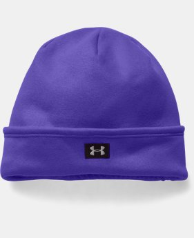 Girls' UA Storm ColdGear® Infrared Fleece Beanie LIMITED TIME: FREE SHIPPING 1 Color $17.24