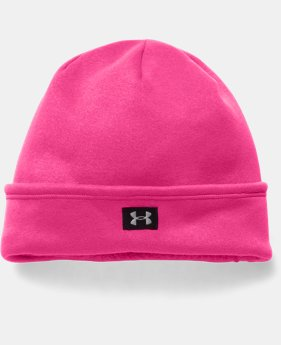 Girls' UA Storm ColdGear® Infrared Cozy Fleece Beanie