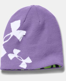 Girls' UA Glow Beanie  1 Color $14.99