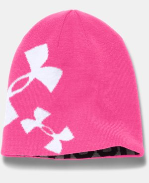 Girls' UA Glow Beanie LIMITED TIME: FREE U.S. SHIPPING 1 Color $14.24