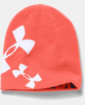 Girls' UA Glow Beanie  3 Colors $14.99