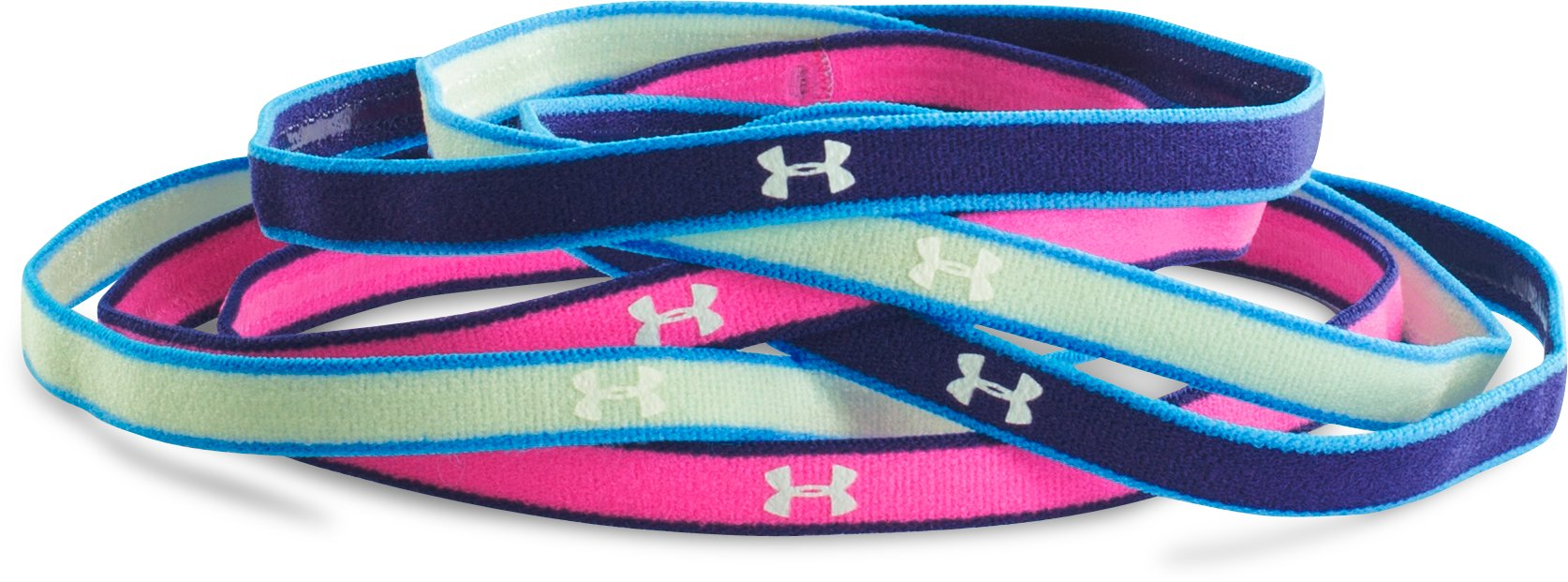Girls' UA Mini Headbands, SUGAR MINT
