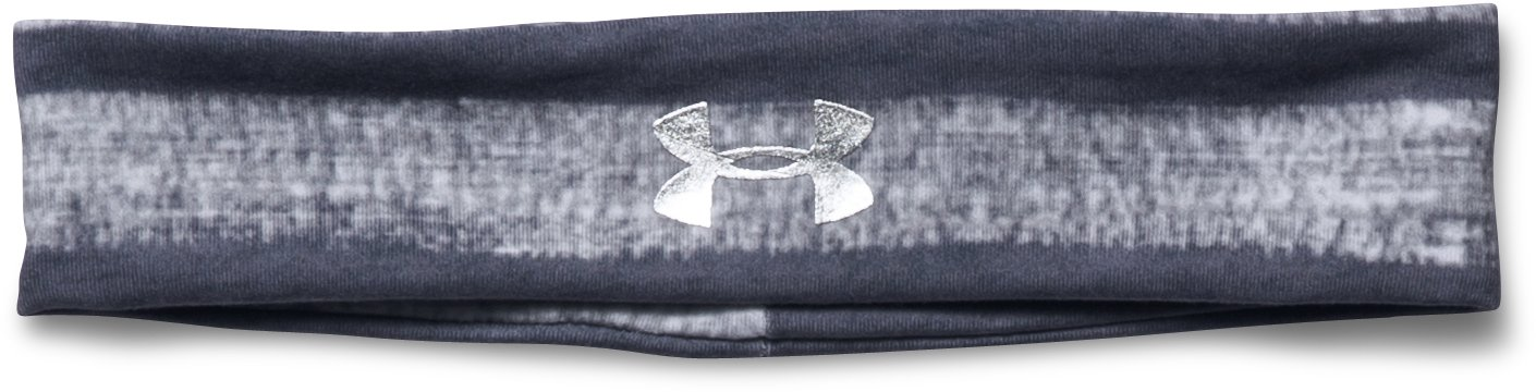 Girls' UA Graphic Headband, True Gray Heather,