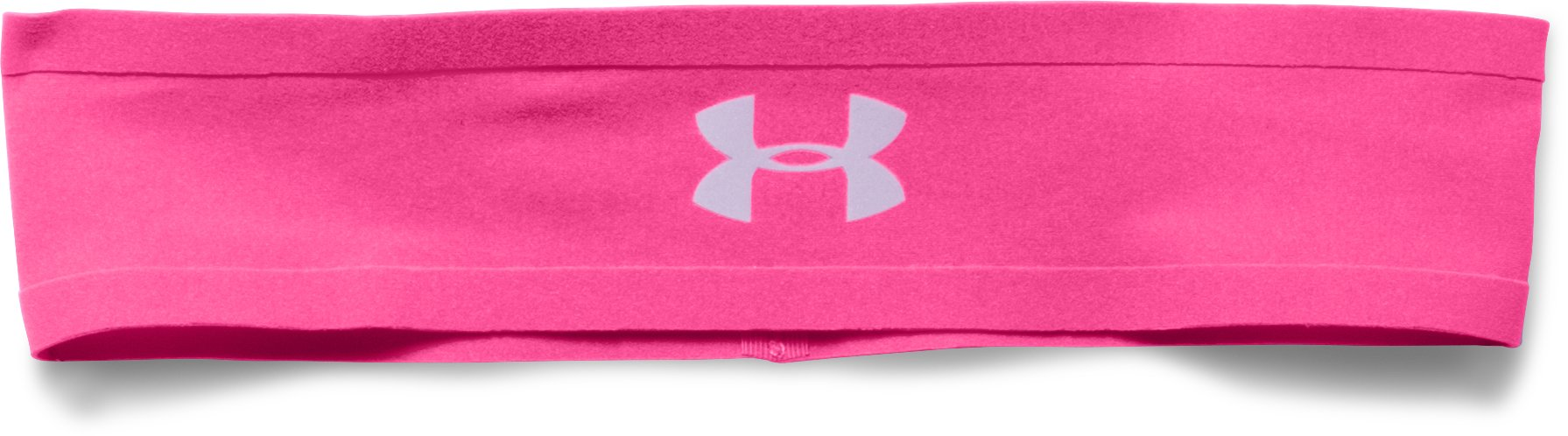 Girls' UA Bonded Headband, REBEL PINK