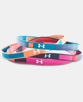 Girls' UA Color Blocked Mini Headbands