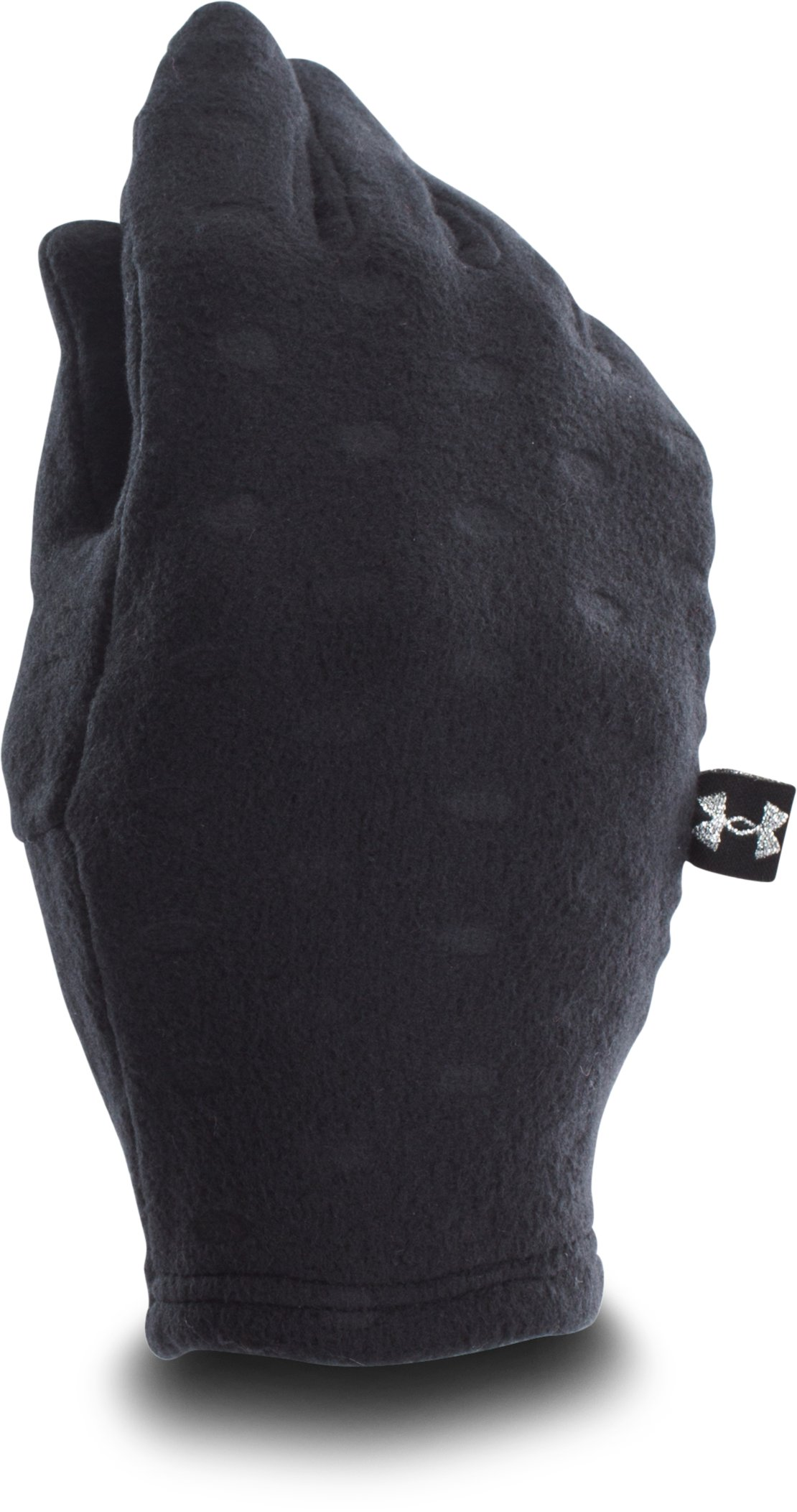 Girls' UA Cozy Glove, Black