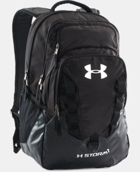 UA Storm Recruit Backpack LIMITED TIME: FREE SHIPPING 4 Colors $74.99
