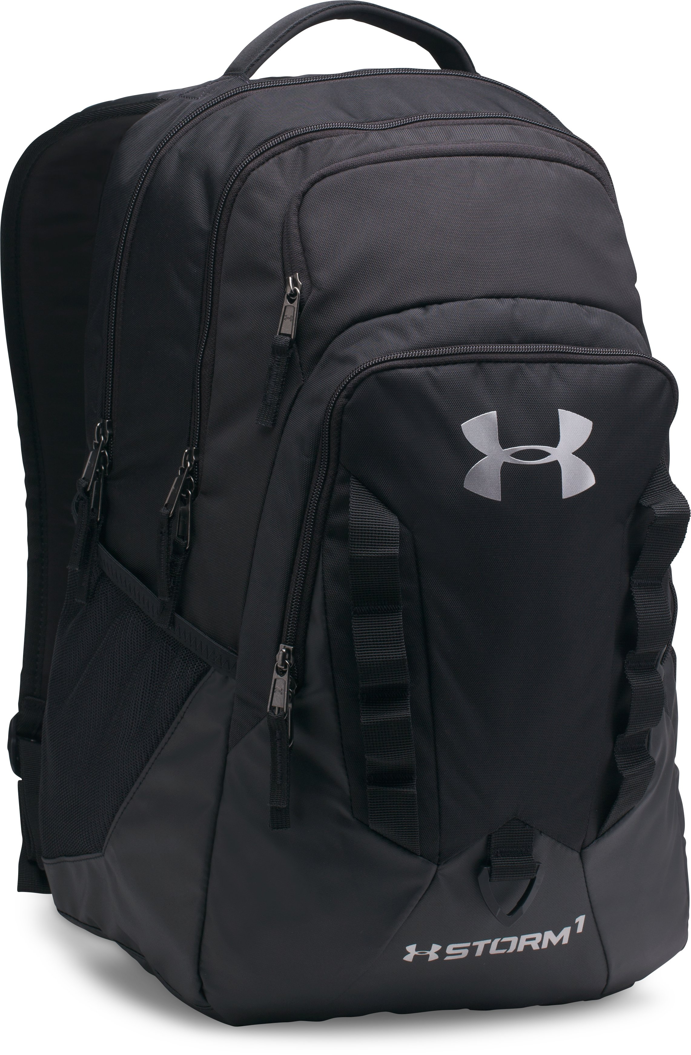 black backpacks UA Storm Recruit Backpack Love love!!!...Great storage...Does the job!