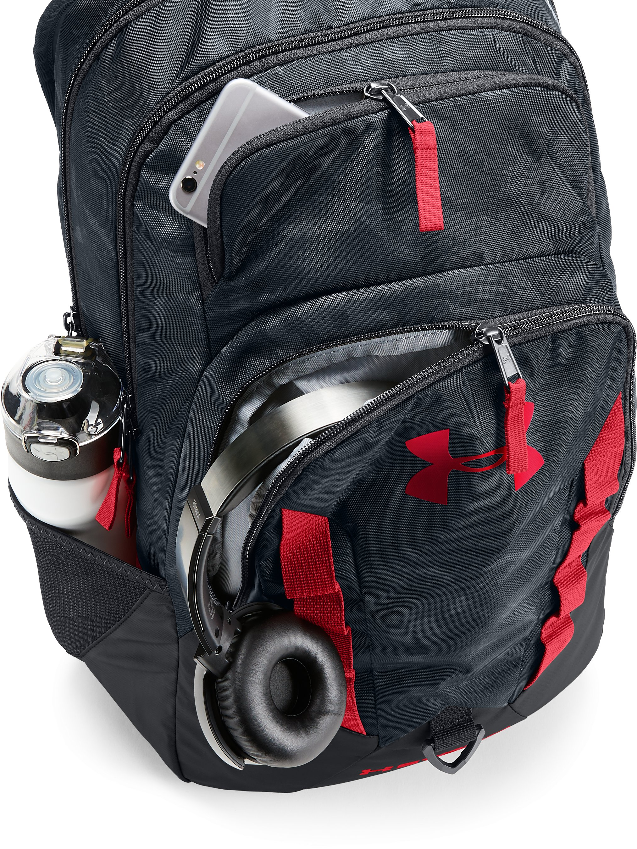 UA Storm Recruit Backpack, STEALTH GRAY, undefined