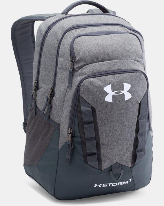 UA Storm Recruit Backpack, Gray, pdpMainDesktop image number 1