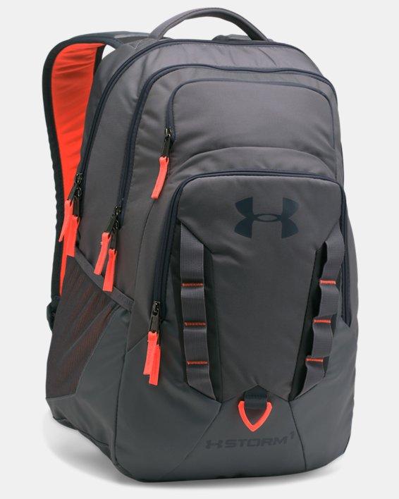 UA Storm Recruit Backpack, Gray, pdpMainDesktop image number 0