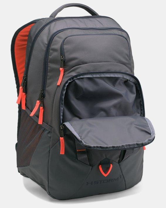 UA Storm Recruit Backpack, Gray, pdpMainDesktop image number 2