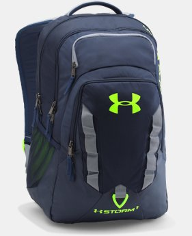 Best Seller  UA Storm Recruit Backpack LIMITED TIME: FREE SHIPPING 1 Color $56.99 to $74.99
