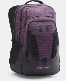 Best Seller UA Storm Recruit Backpack LIMITED TIME: FREE SHIPPING 1 Color $64.99
