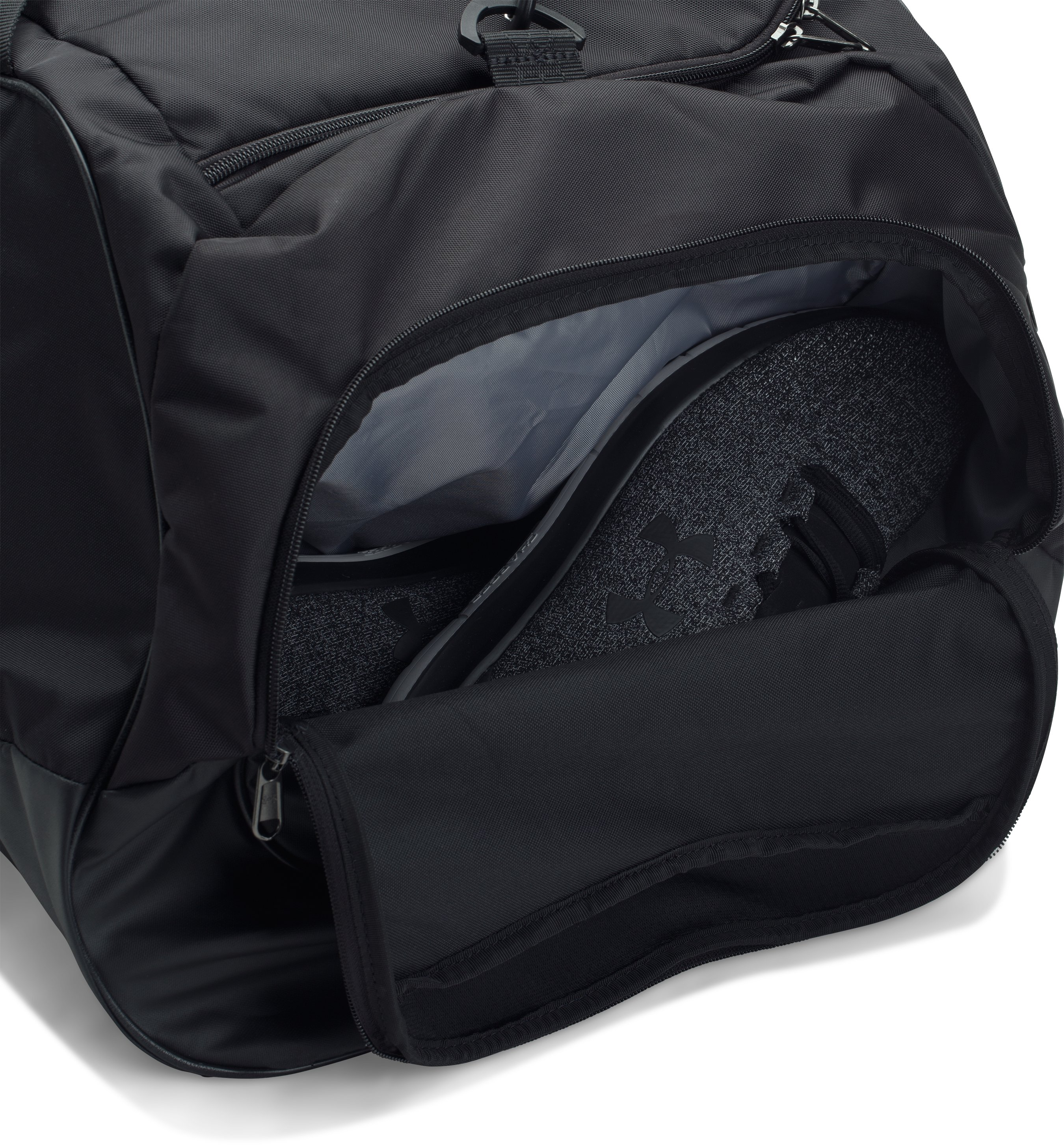 UA Storm Undeniable II XL Duffle, Black ,