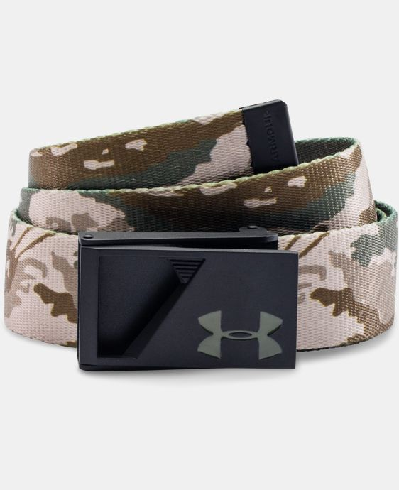 Boys' UA Range Webbed Belt LIMITED TIME: FREE U.S. SHIPPING 1 Color $13.49 to $17.99